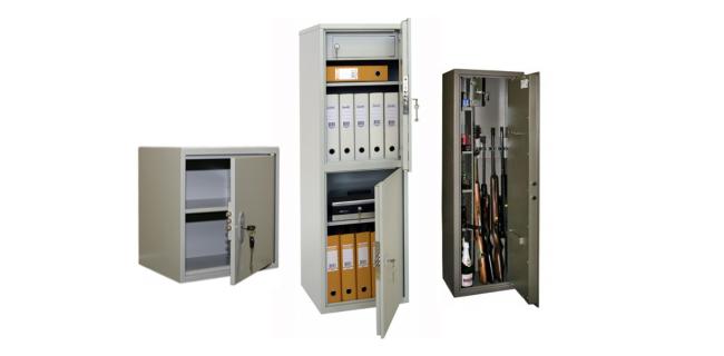 Сейфы и шкафы металлические