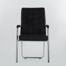 Кресло Barneo K-14 для посетителей и переговорных черный