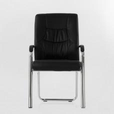 Кресло Barneo K-15 для посетителей и переговорных черный