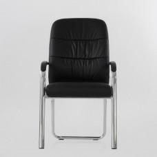 Кресло Barneo K-16 для посетителей и переговорных черный