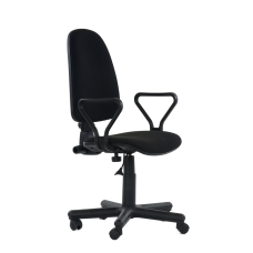Кресло Prestige GTP, черная ткань C-11