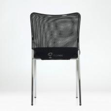 Стул Barneo K-26 ткань сетка черная, спинка черная