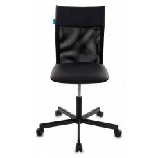 Кресло Бюрократ CH-1399 черный Leather Black искусст.кожа/сетка крестовина металл