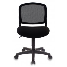 Кресло Бюрократ CH-296NX черный сиденье черный 15-21 крестовина пластик