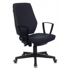 Кресло Бюрократ CH-545 серый 38-417 крестовина пластик