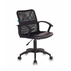 Кресло Бюрократ CH-590 черный сиденье черный искусст.кожа/сетка/ткань крестовина пластик