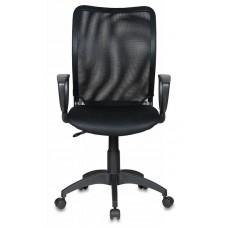 Кресло Бюрократ Ch-599AXSN черный TW-01 сиденье черный TW-11 сетка/ткань крестовина пластик