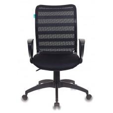 Кресло Бюрократ CH-599AXSN черный TW-32K01 TW-11 крестовина пластик