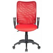 Кресло Бюрократ CH-599AXSN красный TW-35N сиденье красный TW-97N сетка/ткань крестовина пластик