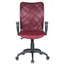 Кресло Бюрократ CH-599AXSN темно-бордовый TW-06N сиденье темно-бордовый TW-13N крестовина пластик