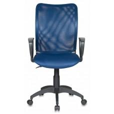 Кресло Бюрократ CH-599AXSN темно-синий TW-05N сиденье темно-синий TW-10N крестовина пластик