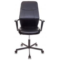 Кресло Бюрократ CH-605 черный искусственная кожа крестовина металл черный