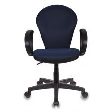 Кресло Бюрократ Ch-687AXSN синий JP-15-5 крестовина пластик