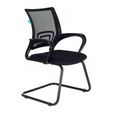 Кресло Бюрократ CH-695N-AV черный TW-01 сиденье черный TW-11 сетка/ткань полозья металл черный