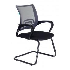Кресло Бюрократ CH-695N-AV темно-серый TW-04 сиденье черный TW-11 полозья металл черный