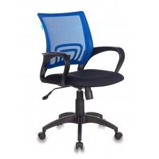 Кресло Бюрократ CH-695N синий TW-05 сиденье черный TW-11 сетка/ткань крестовина пластик