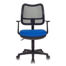 Кресло Бюрократ Ch-797AXSN черный сиденье синий 26-21 сетка/ткань крестовина пластик