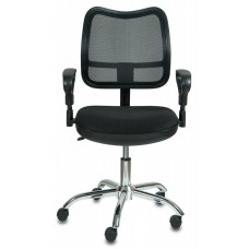 Кресло Бюрократ CH-799SL черный сиденье черный TW-11 сетка/ткань крестовина металл хром