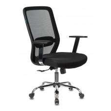 Кресло Бюрократ CH-899SL черный TW-01 сиденье черный TW-11 сетка/ткань крестовина металл хром