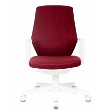 Кресло Бюрократ CH-W545 красный 38-410 крестовина пластик пластик белый