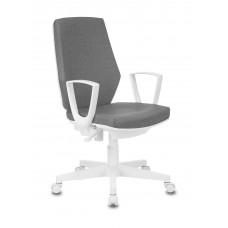 Кресло Бюрократ CH-W545 серый 38-404 крестовина пластик пластик белый