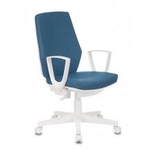 Кресло Бюрократ CH-W545 синий 38-415 крестовина пластик пластик белый