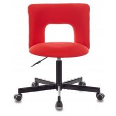 Кресло Бюрократ KF-1M красный 26-22 крестовина металл черный