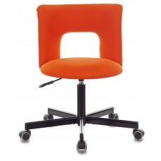 Кресло Бюрократ KF-1M оранжевый 26-29-1 крестовина металл черный