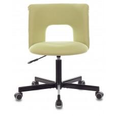 Кресло Бюрократ KF-1M светло-зеленый 26-32 крестовина металл черный