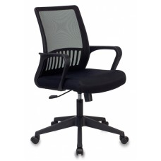Кресло Бюрократ MC-201 черный TW-01 TW-11 крестовина пластик