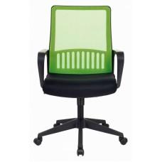 Кресло Бюрократ MC-201 салатовый TW-03A сиденье черный TW-11 сетка/ткань крестовина пластик