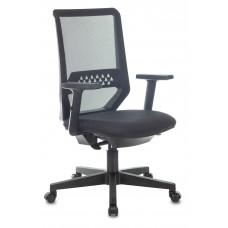Кресло Бюрократ MC-611N черный TW-01 38-418 сетка/ткань крестовина пластик