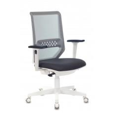 Кресло Бюрократ MC-W611N темно-серый TW-04 38-417 сетка/ткань крестовина пластик пластик белый