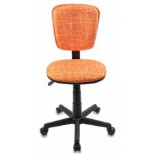 Кресло детское Бюрократ CH-204NX оранжевый жираф крестовина пластик