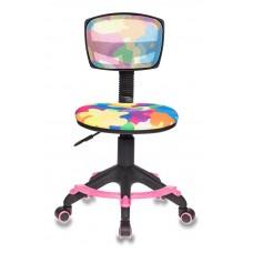 Кресло детское Бюрократ CH-299-F мультиколор абстракция сетка/ткань крестовина пластик подст.для ног