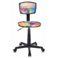 Кресло детское Бюрократ CH-299NX мультиколор абстракция сетка/ткань крестовина пластик