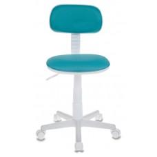 Кресло детское Бюрократ CH-W201NX бирюзовый 15-175 крестовина пластик пластик белый