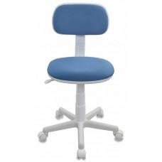 Кресло детское Бюрократ CH-W201NX голубой 26-24 крестовина пластик пластик белый