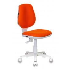 Кресло детское Бюрократ CH-W213 оранжевый TW-96-1 крестовина пластик пластик белый