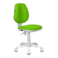 Кресло детское Бюрократ CH-W213 салатовый TW-18 крестовина пластик пластик белый