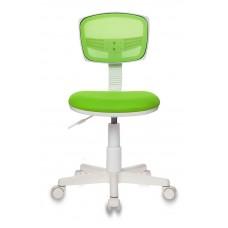 Кресло детское Бюрократ CH-W299 салатовый TW-03A TW-18 сетка/ткань крестовина пластик пластик белый