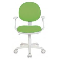 Кресло детское Бюрократ Ch-W356AXSN салатовый 15-118 крестовина пластик пластик белый