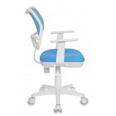 Кресло детское Бюрократ CH-W797 голубой сиденье голубой TW-55 сетка/ткань крестовина пластик пластик белый
