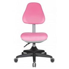Кресло детское Бюрократ KD-2 розовый TW-13A крестовина пластик