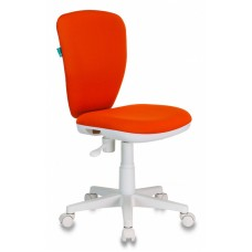 Кресло детское Бюрократ KD-W10 оранжевый 26-29-1 крестовина пластик пластик белый