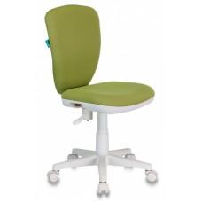 Кресло детское Бюрократ KD-W10 светло-зеленый 26-32 крестовина пластик пластик белый