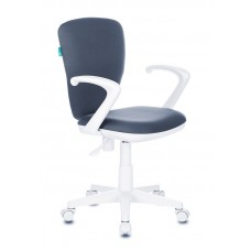 Кресло детское Бюрократ KD-W10AXSN серый 26-25 крестовина пластик пластик белый