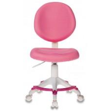 Кресло детское Бюрократ KD-W6-F розовый крестовина пластик подст.для ног пластик белый