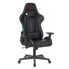 Кресло игровое Zombie A4 черный искусственная кожа с подголов. крестовина пластик