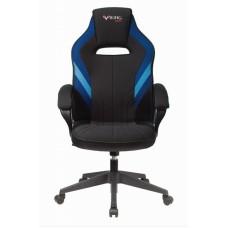 Кресло игровое Zombie VIKING 3 AERO черный/синий искусст.кожа/ткань крестовина пластик